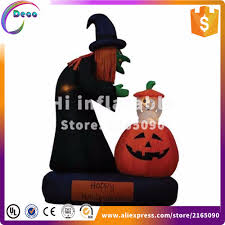 compare prices on halloween inflatable witches online shopping