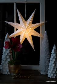 diy paper star window decoration paper stars diy paper and window