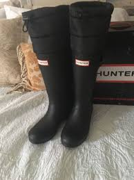womens rubber boots size 9 cheap authentic original quilted leg boots