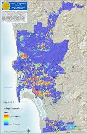 San Diego City Map by Arcnews Fall 2006 Issue Smart Growth In San Diego California