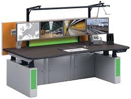 ergocon power adjustable height adjustable control station