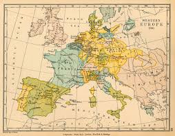 Map Of Europe 1648 by Western Europe In 1700