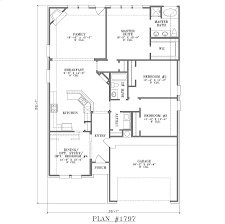 Home Plans One Story Narrow Lot House Plans Texas House Plans Southern House Plans