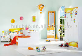 children kids simple style modern dressing table with mirror view