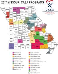 Jefferson County Tax Map Local Casa Programs The Missouri Court Appointed Special