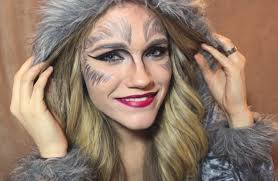 Werewolf Halloween Costumes Girls 15 Ideas Wolf Halloween Makeup U0026 Tutorial