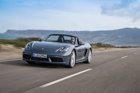porsche graphite blue 2017 porsche 718 boxster review gtspirit