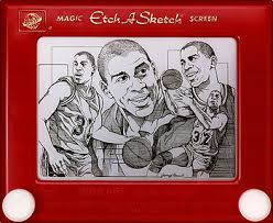 37 super cool etch a sketch drawings