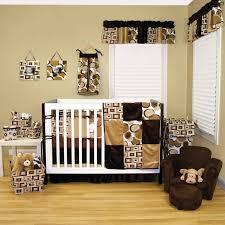 Swinging Crib Bedding Sets Crib Bedding Set Neutral Alphabet Wall Picture Baby Room