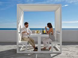 mobilier exterieur design cabine repas espaces u0026 mobilier de jardin design