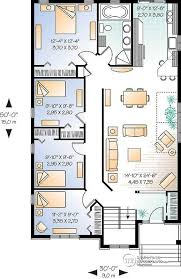 narrow home plans clever design open floor plans narrow lot 5 plan for home act