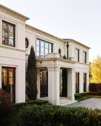neoclassical residence meyer greeson paullin benson proportion and scale the details become essential plaster walls refined moldings stained wood provide sense simplicity richness