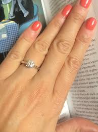 s plain wedding bands solitaire with plain wedding band show me yours for inspiration