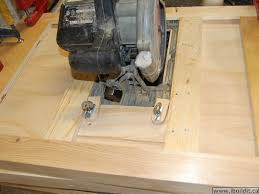 convert portable circular saw to table saw making a utility table saw ibuildit ca