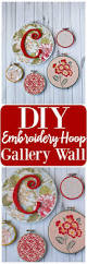 Embroidered Home Decor Fabric Best 25 Embroidery Hoop Crafts Ideas On Pinterest Embroidery