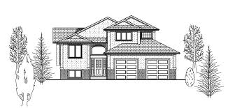 Floor Plans Alberta Bi Level Design And Floor Plans Practical Home Design Services