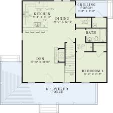 grilling porch riverbend collection house plan 416 hunter u0027s den