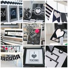Black And White Classroom Theme Decor By Schoolgirl Style loversiq