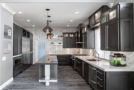 brown kitchen cabinets with grey floor u2013 quicua com
