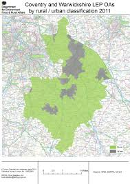 map uk coventry local enterprise partnership simple rural maps census 2011