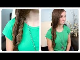 2 minute faux fishtail braid cute girls hairstyles makeup videos