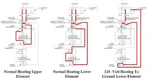 electric water heater wiring schematic diagram wiring