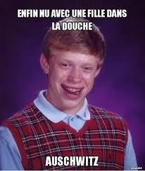 Douche Meme - enfin nu avec une fille dans la douche meme