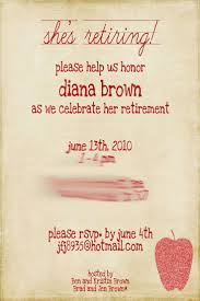 Retirement Invitation Card 90 Best Principal Retirement Images On Pinterest Retirement