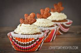 Pumpkin Cupcakes by Pumpkin Pie Cupcakes Love From The Oven