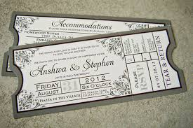 ticket wedding invitations ticket wedding invitations ticket wedding invitations with stylish