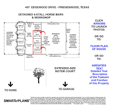 Horse Stall Floor Plans by Luxury Home In Friendswood Texas W 4 Stall Horse Barn Pool