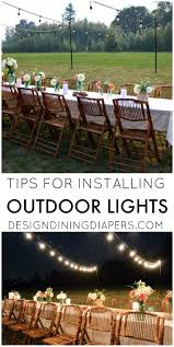 Outdoor Patio Lighting Ideas Pictures by Backyard Lighting Ideas For A Party Christmas Lights Decoration
