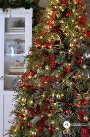 where to buy brown christmas tree traditional tartan plaid christmas tree 2016