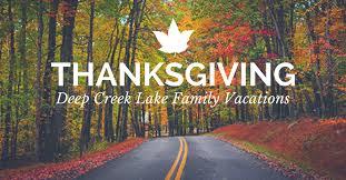 thanksgiving creek lake get togethers