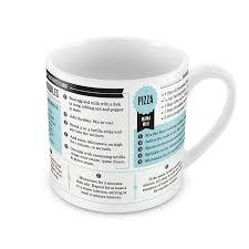 Adding Salt To Coffee Amazon Com Fred Grub Mugs Microwave Recipe Mugs Set Of 4