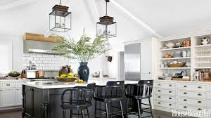 Pendant Kitchen Lights Over Kitchen Island Blue Pendant Lights For Kitchen Modern Kitchen With Light Gray
