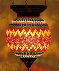 Mosaic Pendant Lighting by Turkish Style Mosaic Pendant Lamp 17cm Mediterranean Pendant
