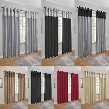 Gray And Red Curtains Red Curtains And Blinds Ebay