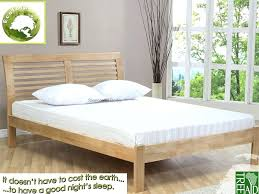 nodax pine super king size bedframe 6ft option with under bed in