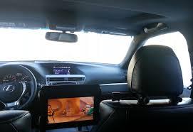 lexus sc300 rear seats tablet rear seat entertainment solution clublexus lexus forum
