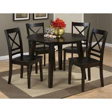 Espresso Dining Room Furniture by Jofran 552 28 Round Drop Leaf Table In Espresso Homeclick Com