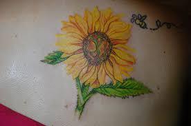 sunflower tattoos u2013 tattoo collections