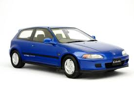 honda car models diecast model onemodel 1 18 honda civic sir vtec eg6 metallic blue