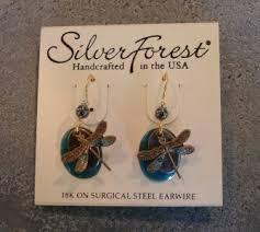 silver forest earrings silver forest earrings gift in enfield nh safflowers