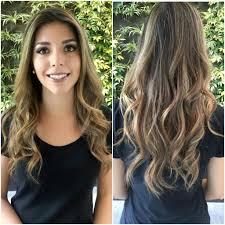Balayage For Light Brown Hair Women U0027s Long Sunkissed Light Brown Balayage Hair With Long