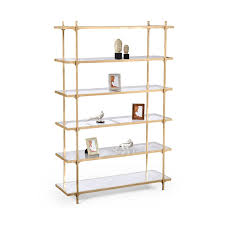 Gold Bookcase Shelf Bookcase With Swing Glass Doors Solid Bookshelves And Gold