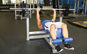 Bench Press No Spotter Decline Close Grip Bench Press Video Exercise Guide U0026 Tips