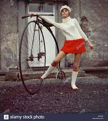 bicycle boots model anna andreucetti wearing a cyril cullen creation clothing