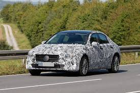 luxury mercedes sedan spyshots 2019 mercedes benz a class sedan first look on german