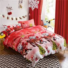 Christmas Duvet Cover Sets Aliexpress Com Buy Home Textile 3d Christmas Bedding Set Happy